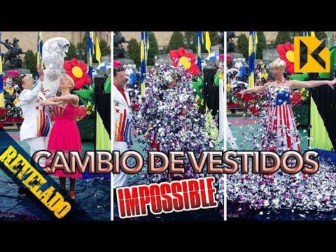 REVELADO El Cambio de vestidos  IMPOSIBLE del America's Got Talent
