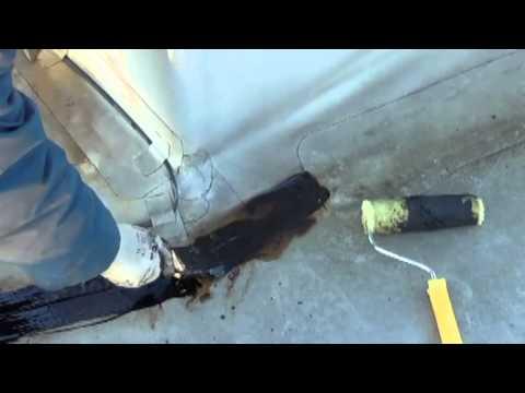 видео: Ремонт кровли своими руками, жидкая кровля