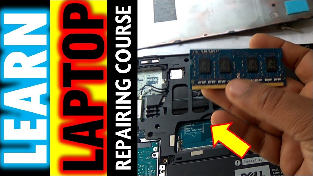 learn laptop repairing course scratch to expert dell latitude rh youtube com Dell Laptop Windows 7 Dell Laptop Hard Drive Issues