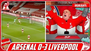 JOTA DOUBLE! Liverpool Fan Reacts to Arsenal 0-3 Liverpool