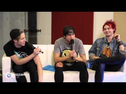 FULL INTERVIEW: 5SOS Shazam-A-Hang Part Two!