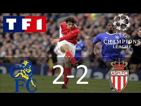 Chelsea 2-2 Monaco | Demi-finale retour | Ligue des champions 2003/2004 | TF1/FR