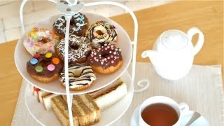 Afternoon Tea EGG FREE Soy Milk Doughnuts (Donuts) 豆乳 ドーナツ 作り方 - OCHIKERON - CREATE EAT HAPPY