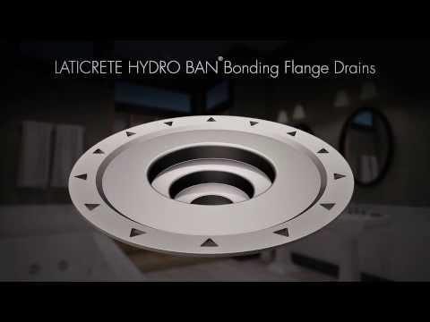 LATICRETE® HYDRO BAN® Bonding Flange Drains