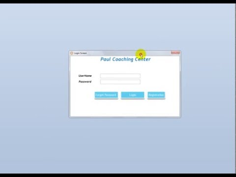 Ms Access School Management Software Ver2 Intro