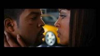 Nona Gaye kissing Ice Cube