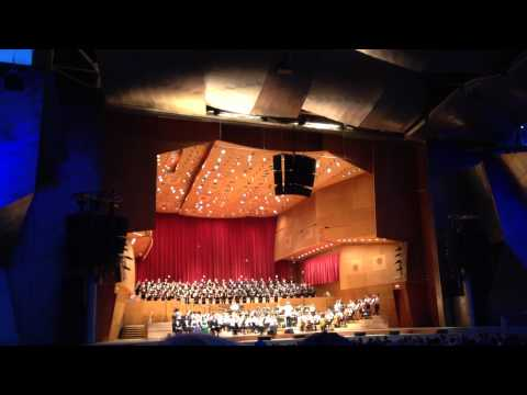 The Grant Park Orchestra and Grand Park Chorus (Chicago. Millennium Park)