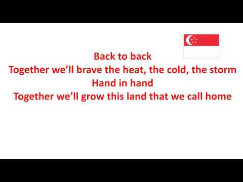 Because It's Singapore (with Lyrics)