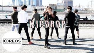 Video [Koreos] BTS 방탄소년단 - Mic Drop Dance Cover 댄스커버 download MP3, 3GP, MP4, WEBM, AVI, FLV Agustus 2018