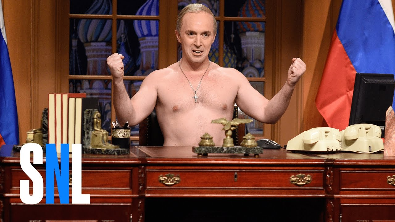Vladimir Putin Cold Open Snl Youtube