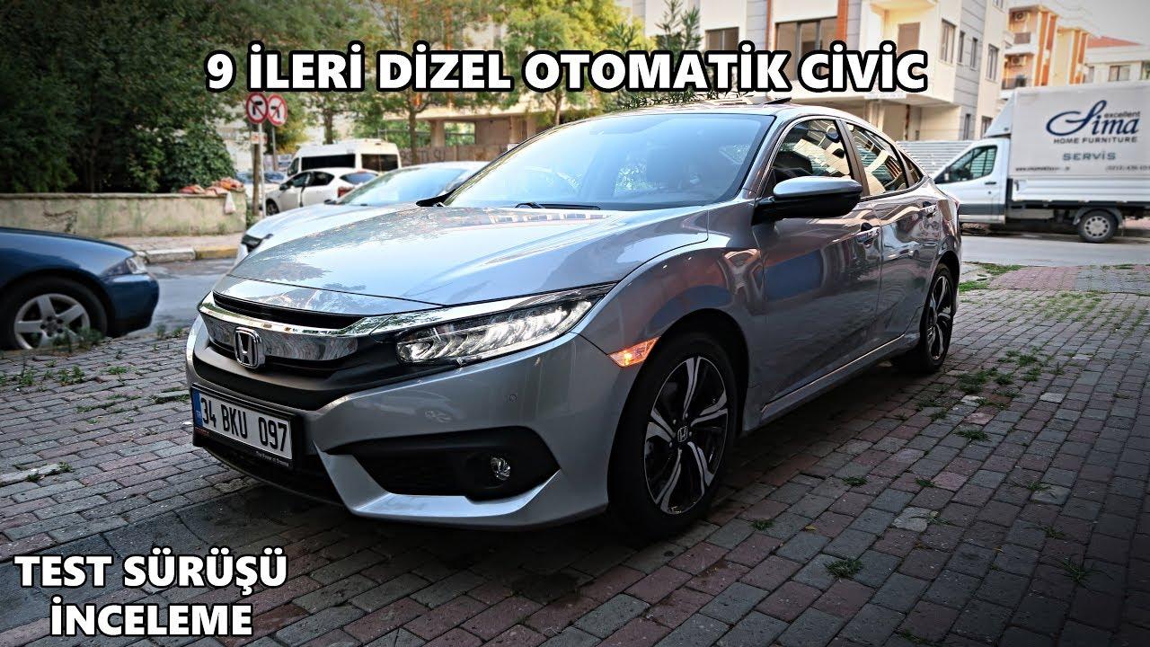 9 Ileri Dizel Otomatik Civic Honda Civic 16 Dizel 9at Test Sürüşü