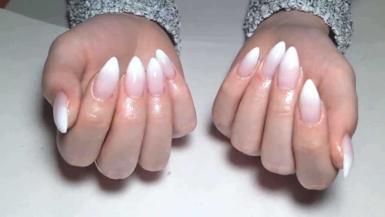 french fade gel nails