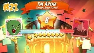 ANGRY BIRDS 2 THE ARENA – 7 LEVELS Gameplay Walkthrough Part 21