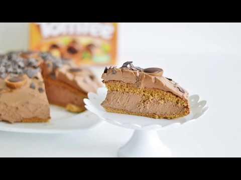 🍬 Toffifee Torte ohne Gelatine 🍬 Toffifee Turta kek jelatinsiz tarifi #0517