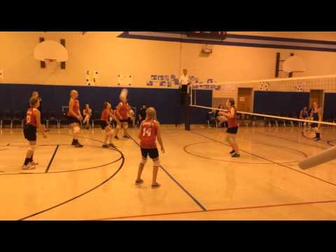 Sophia Johnston #9  Calumet Christian School & Club 6th gr 11 yrs old