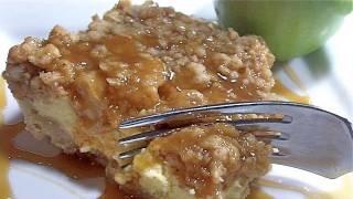 Caramel Apple Crisp Cheesecake Bars Recipe (haaave Mercy!)