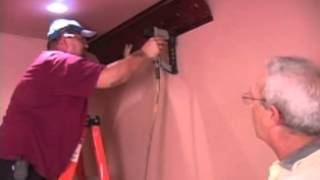 How to Install Crown Molding in Tin Ceilings