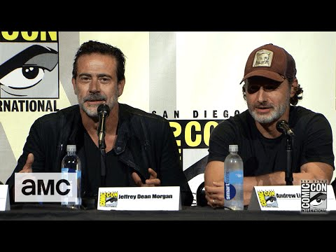 The Walking Dead: Season 7 Comic-Con Panel Highlights: Jeffrey Dean Morgan Embraces the Fandom