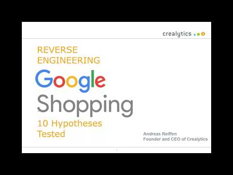 Reverse Engineering Google Shopping