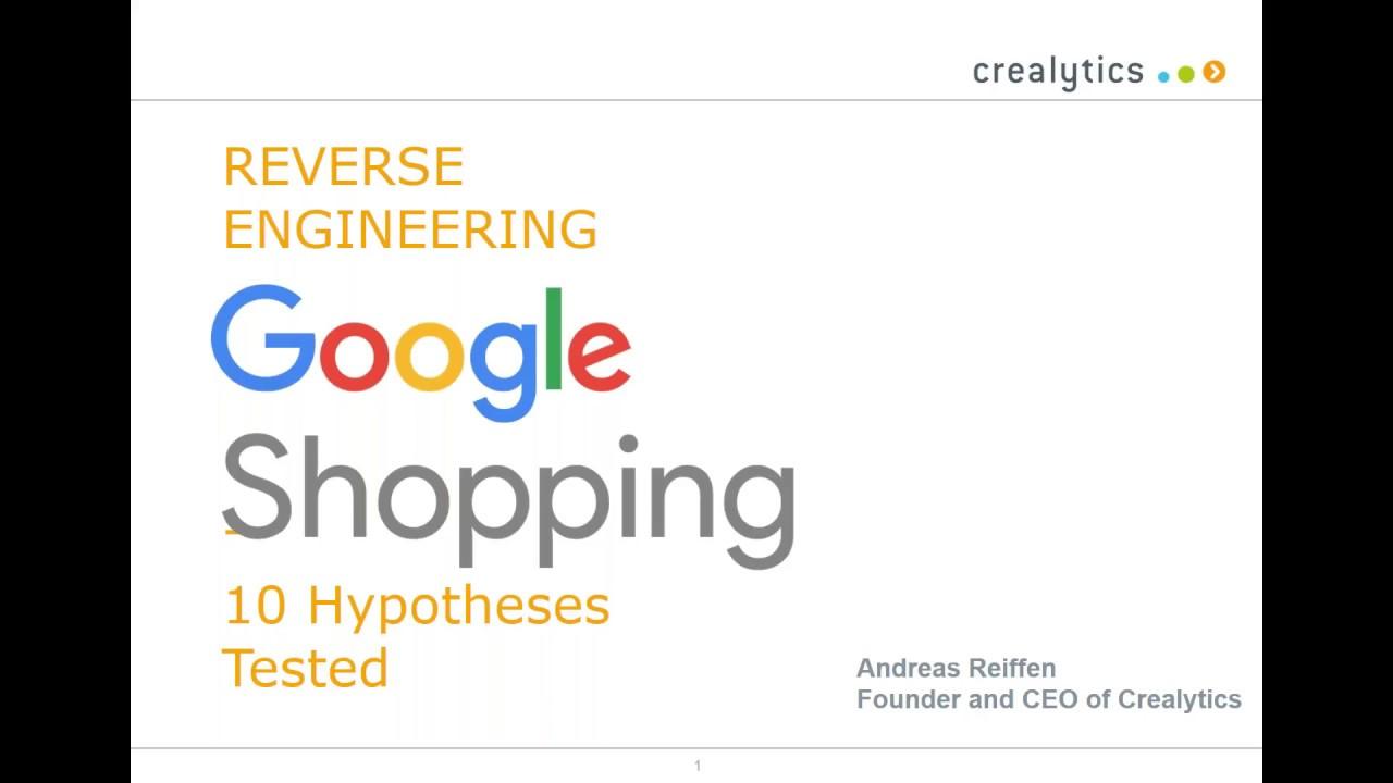 Reverse Engineering Google Shopping