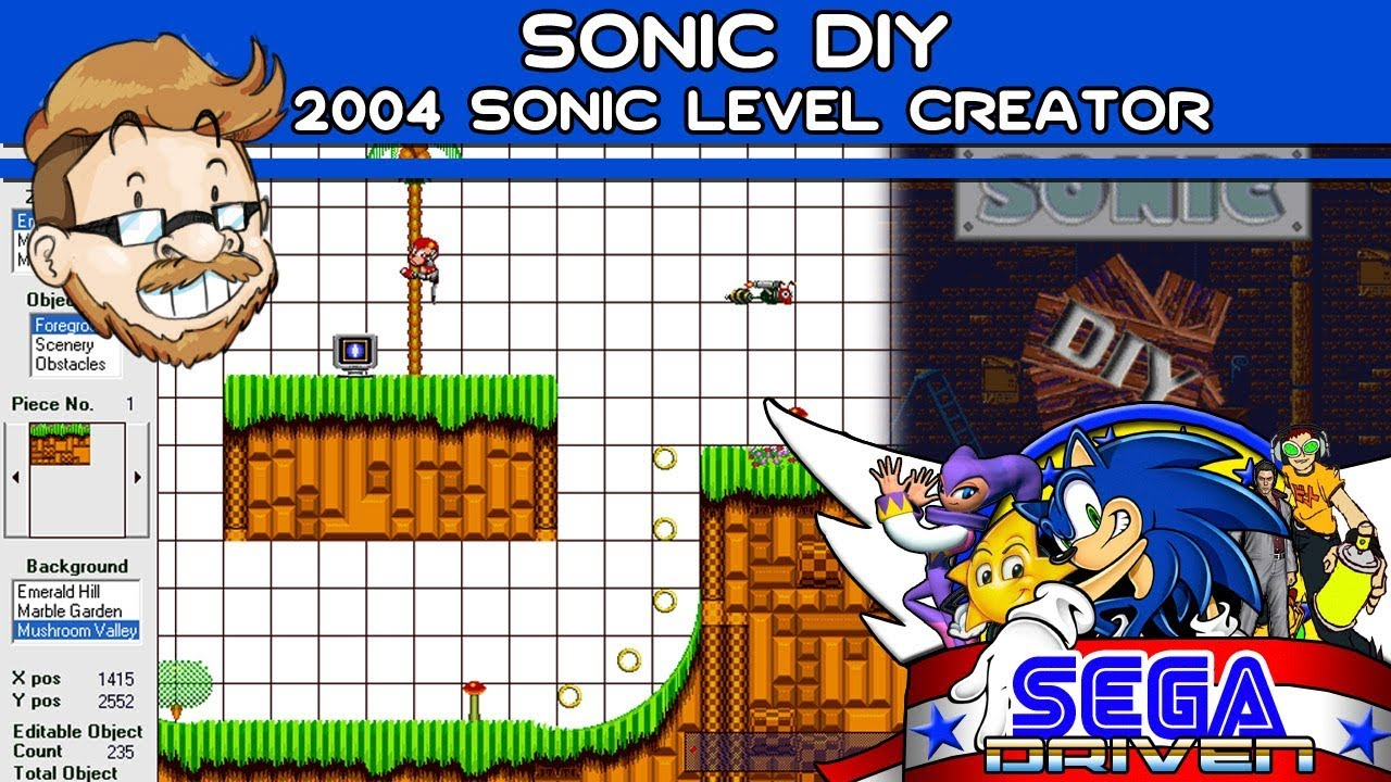 Sonic Diy 2004 Sonic Level Creator Segadriven Youtube