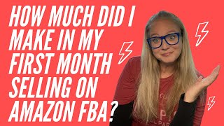 Amazon FBA Results - My first full month selling on Amazon FBA!