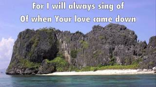 I could Sing of Your Love Forever lyrics