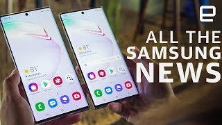All the big announcements from Samsung's Galaxy Note 10 launch