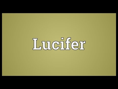 Lucifer Meaning