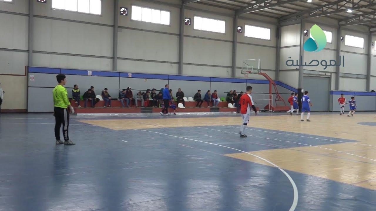 أختتام بطولة خماسي كرة القدم لمدارس نينوى الابتدائية والمتوسطة والاعدادية