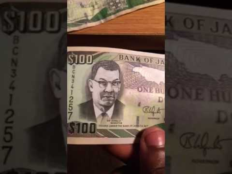 Jamaican money vs us money