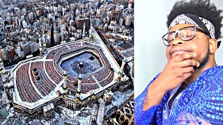 CATHOLIC REACTS TO Why Can't Airplanes or Birds Fly Over The Kaaba!!