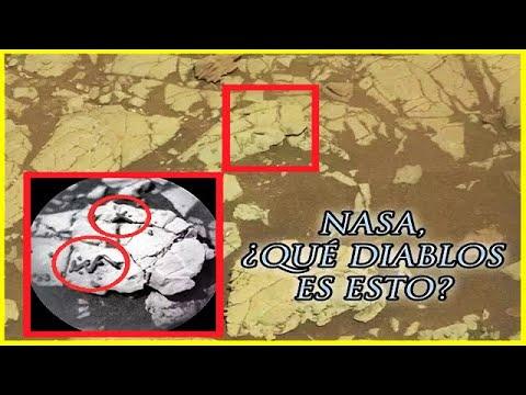 El Curiosity ha Encontrado Algo Muy Extraño en Marte