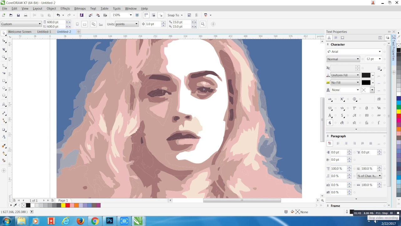 Coreldraw vector graphics - How To Convert A Picture To Vector In Corel Draw Extract Image Easy Tutorial Vijay Aryan
