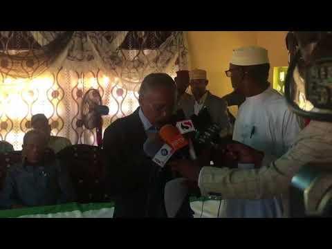 Madaxweyne Siilanyo Oo Cali Khaliif Kusoo Daray Somaliland BNN