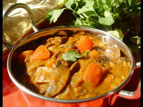Champignons au Curry
