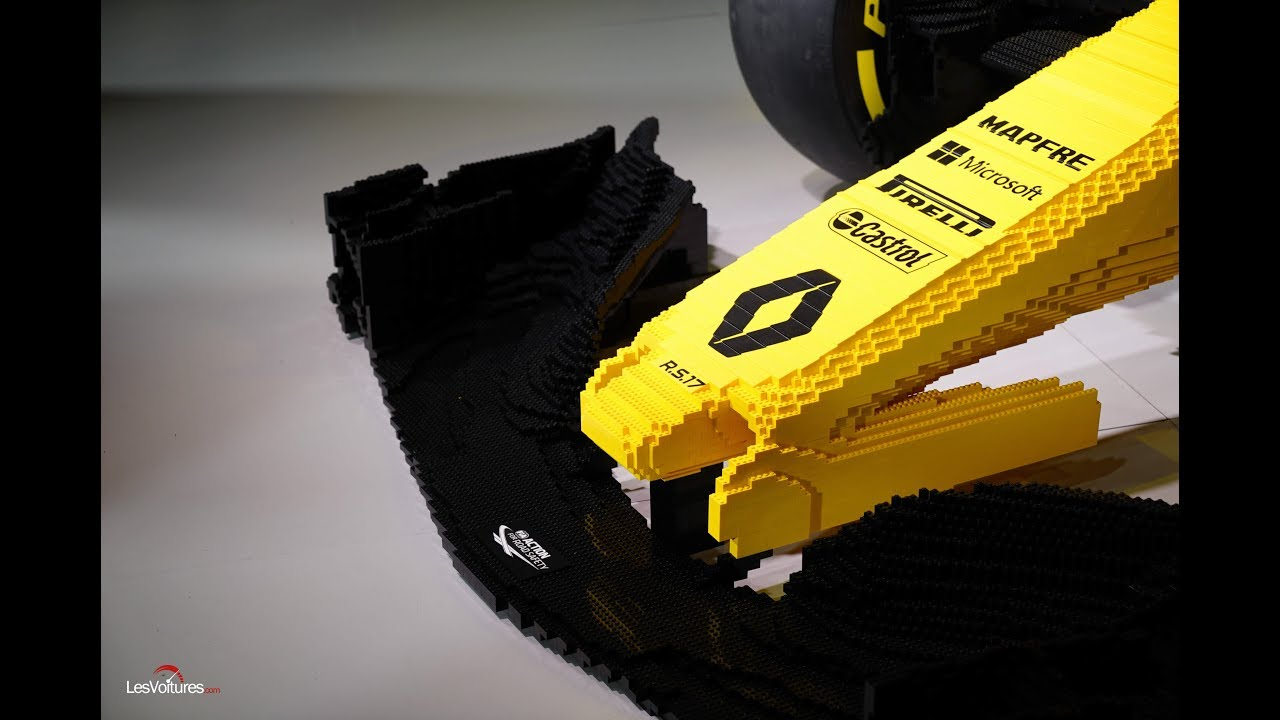 lego f1 renault youtube. Black Bedroom Furniture Sets. Home Design Ideas