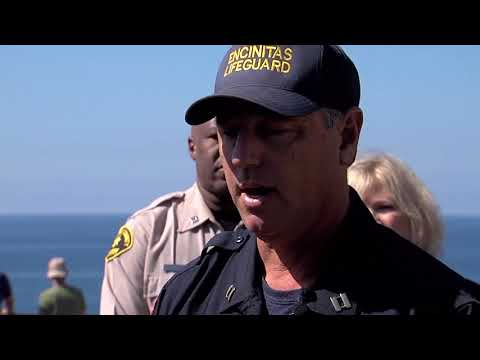 Officials give update on Encinitas shark attack