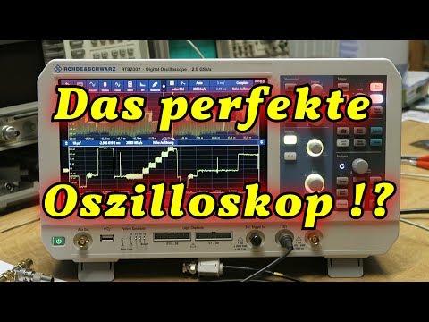 Ein außergewöhnliches Oszilloskop ! RTB2002 , RTB2004 , RTB2000 Serie