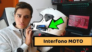INTERFONO MOTO BLUETOOTH economico - Recensione Lexin b4fm