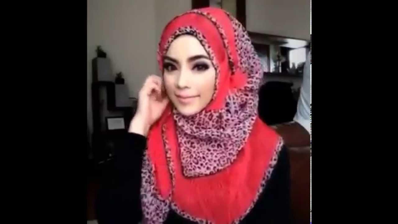 Hd Hijab Tutorial Pashmina Sifon Simple Terkini 2015 Video Cara