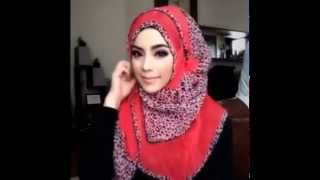 🌟Hijab Tutorial-16🌟 Cara Memakai Jilbab Pashmina ۞ Simple Red Star ۞ (Up to date)