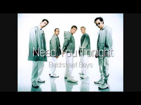 Backstreet Boys - I Need You Tonight (HQ)