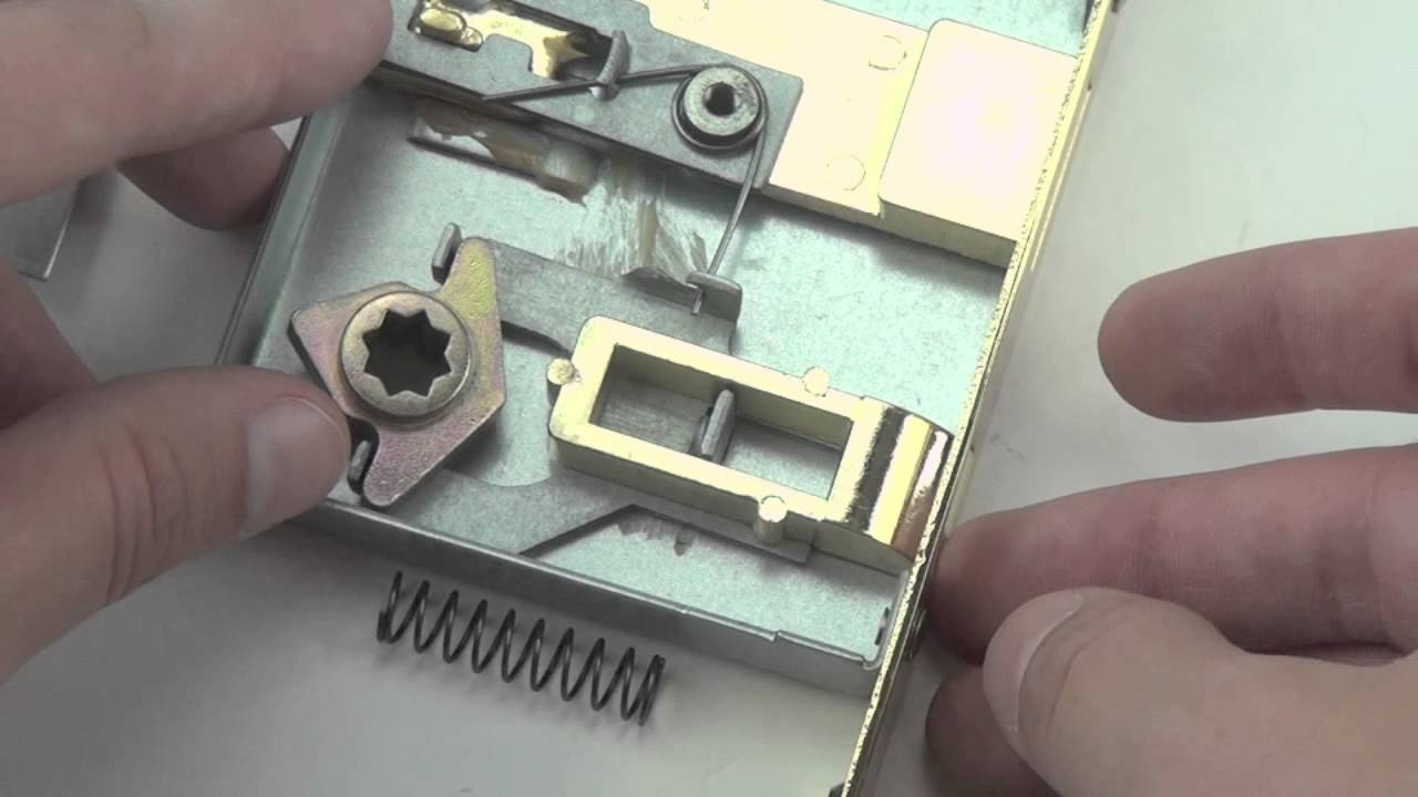 How To Reverse Handing On Interior Door Mortise Lock With Skeleton Key Youtube