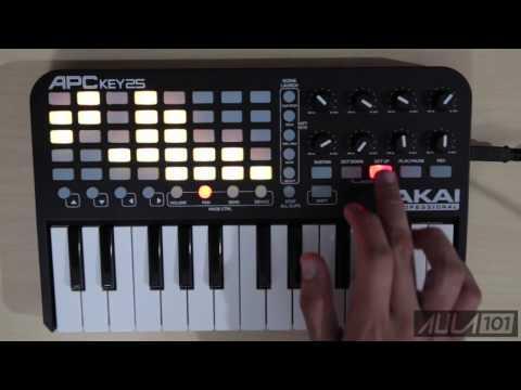 Akai APC KEY25: Funciones y Demo | Aula101