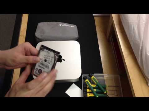2012 Mac Mini Second Hard Drive or SSD Upgrade