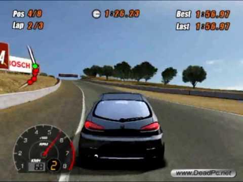 SCAR Squadra Corse Alfa Romeo ( 2005 ) Game - first race!