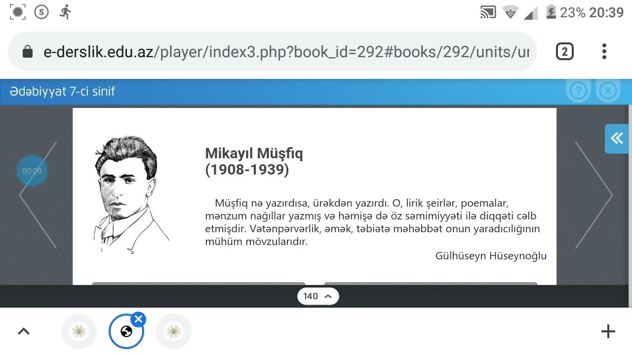 Mikayıl Müşfiq kim olub?
