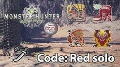 MHWorld | DMC Event | Code: Red solo (Long Sword) - 9'45