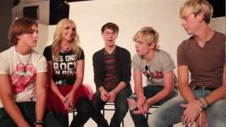 R5's First Kisses!